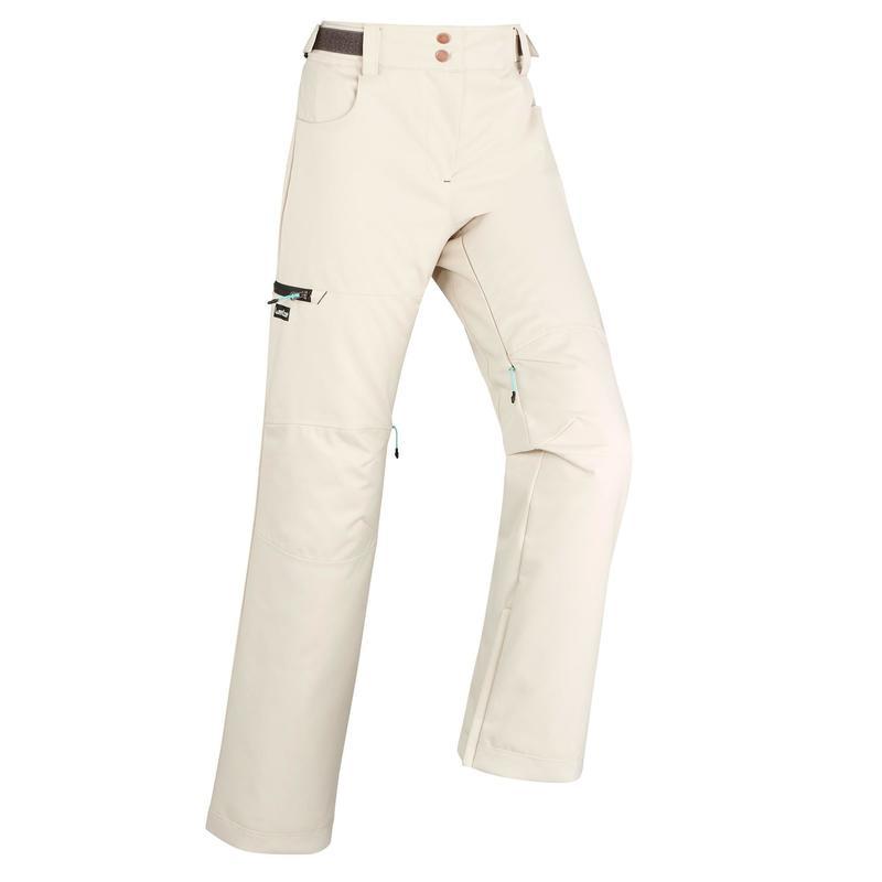 Women's Ski and Snowboard Trousers SNB PA 500 - Linen