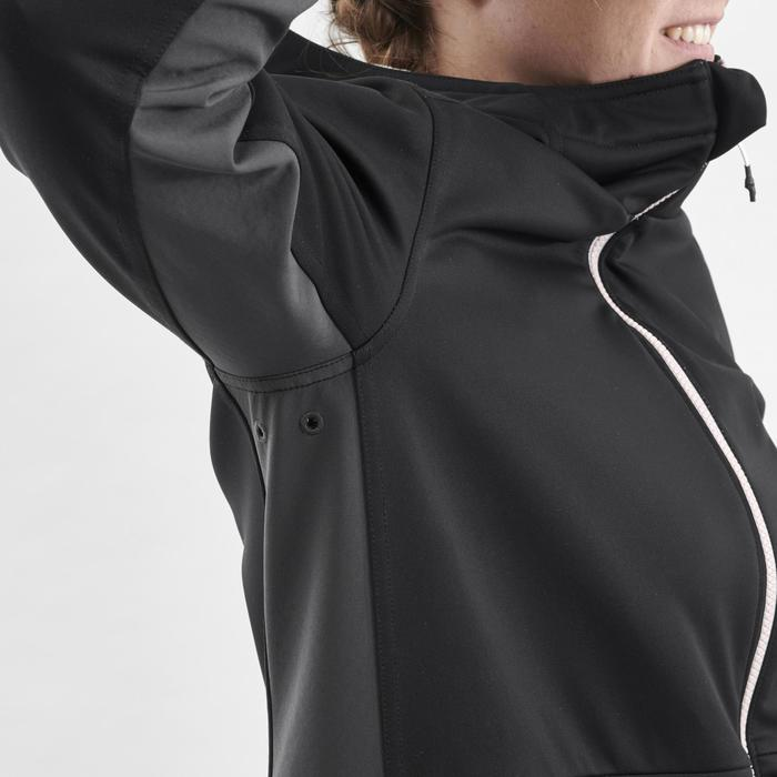 女款單/雙板滑雪連帽衫SNB HDY - 黑色