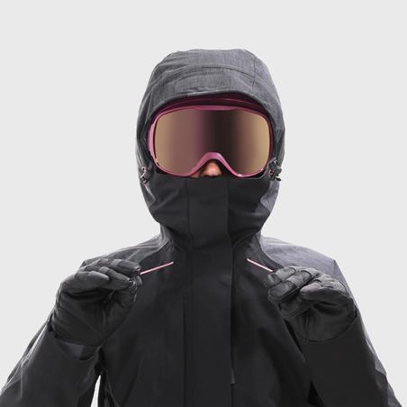 Veste de snowboard et de ski femme SNB JKT 900 Noire