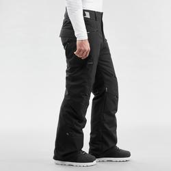 Men's Ski and Snowboard Trousers SNB PA 100 - Black