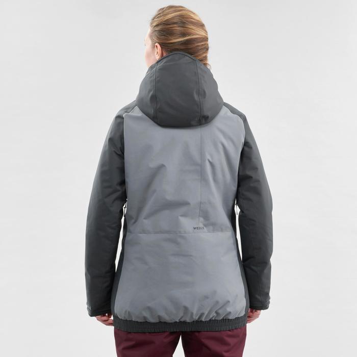 Snowboard- en ski-jas voor dames SNB JKT 100 grijs