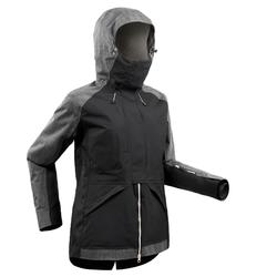 Chaqueta de Snowboard y Nieve, Wed'ze SNB 900, Impermeable, Mujer, Negro