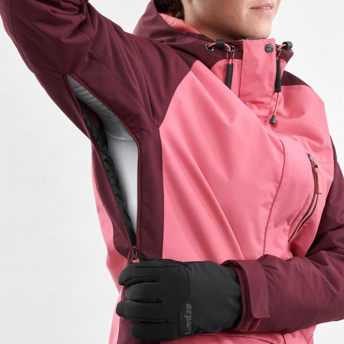 Veste de Snowboard (et de ski) Femme SNB JKT 100 Bordeau