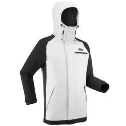 Men's Ski and Snowboard Jacket SNB JKT 100 - Grey