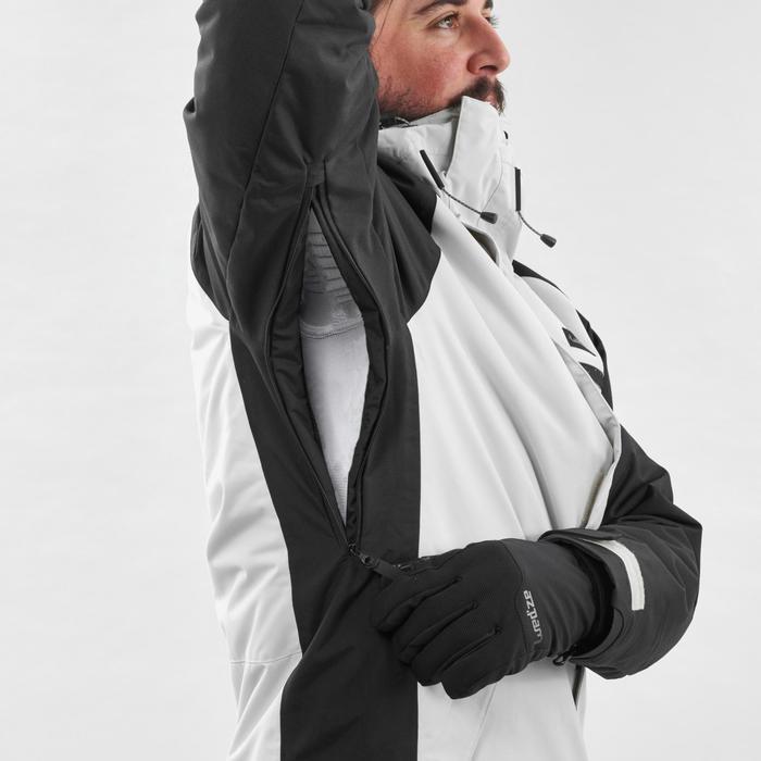 Veste de Snowboard (et de ski) Homme SNB JKT 100 Grise