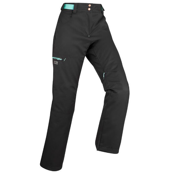Women's Ski and Snowboard Trousers SNB PA 500 - Black