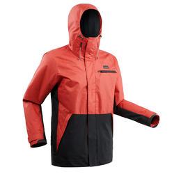 Chaqueta de Snowboard y Nieve, Wed'ze SNB JKT 100, Impermeable, Rojo