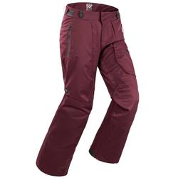Pantalon de snowboard et de ski homme SNB PA 500 Bordeau