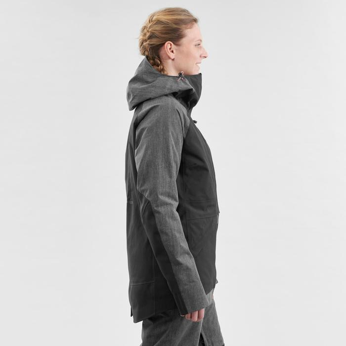 Women's snowboarding (and skiing) jacket SNB JKT 900 - Black