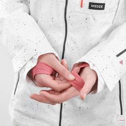 女款單/雙板滑雪外套SNB JKT 500 AO - 白色