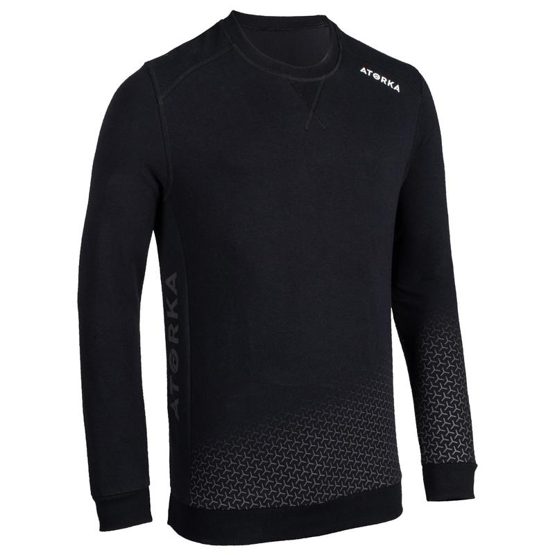 Sweat de gardien H500 adulte noir