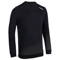 Camisola de Guarda-Redes Andebol H500 Adulto Preto