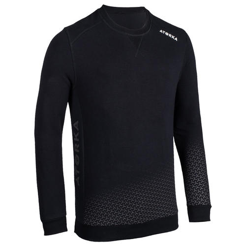 SWEAT HANDBALL GARDIEN H500 ADULTE / NOIR