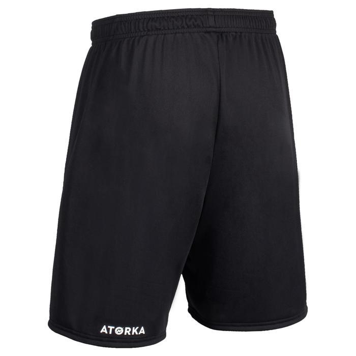 Short de handball H100 homme noir
