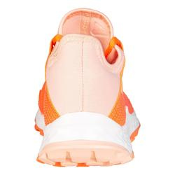 Hockeyschoenen voor kinderen gemiddeld tot heel intensief Youngstar koraalrood
