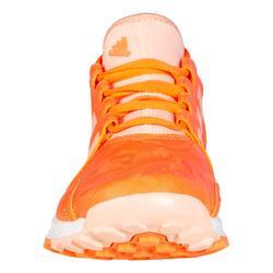 Chaussures de hockey sur gazon enfant intensité moyenne à forte youngstar corail