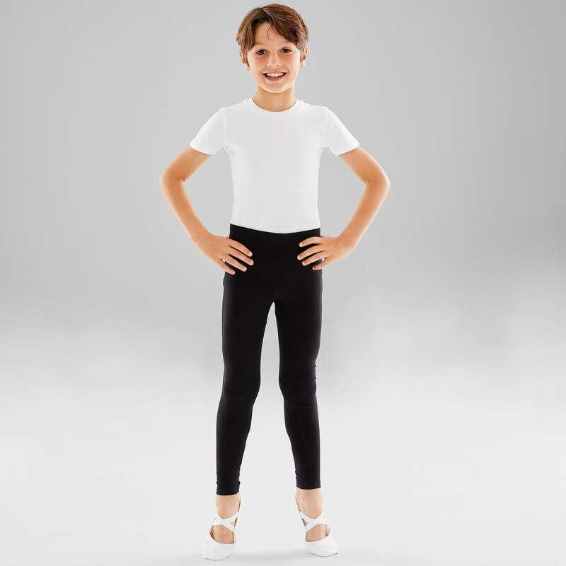 DJEČJI TRIKOI I ODJEĆA ZA BALET Fitness - Tajice za balet za dječake STAREVER - Tajice za fitness