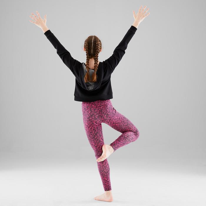 Meisjeslegging met print voor moderne dans/danswork-outs
