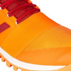 Hockeyschoenen voor volwassenen laag/gemiddeld intensief Divox 1.9S oranje