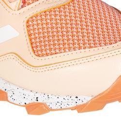 Chaussures de hockey sur gazon femme intensité moyenne à forte FabelaRise corail