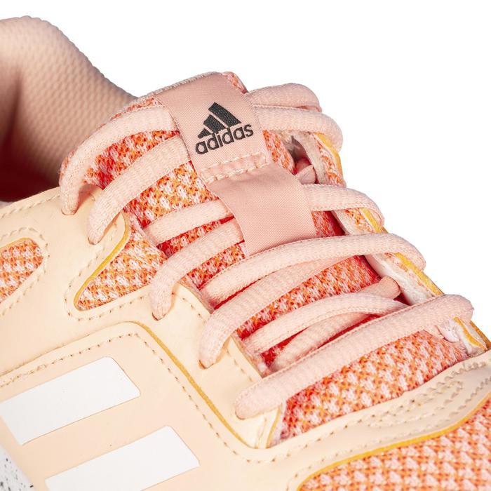 Veldhockeyschoenen voor dames gemiddeld tot intensief gebruik FabelaRise koraal