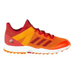 Hockeyschoenen voor heren gemiddeld tot hoogintensief ZoneDox 1.9S oranje