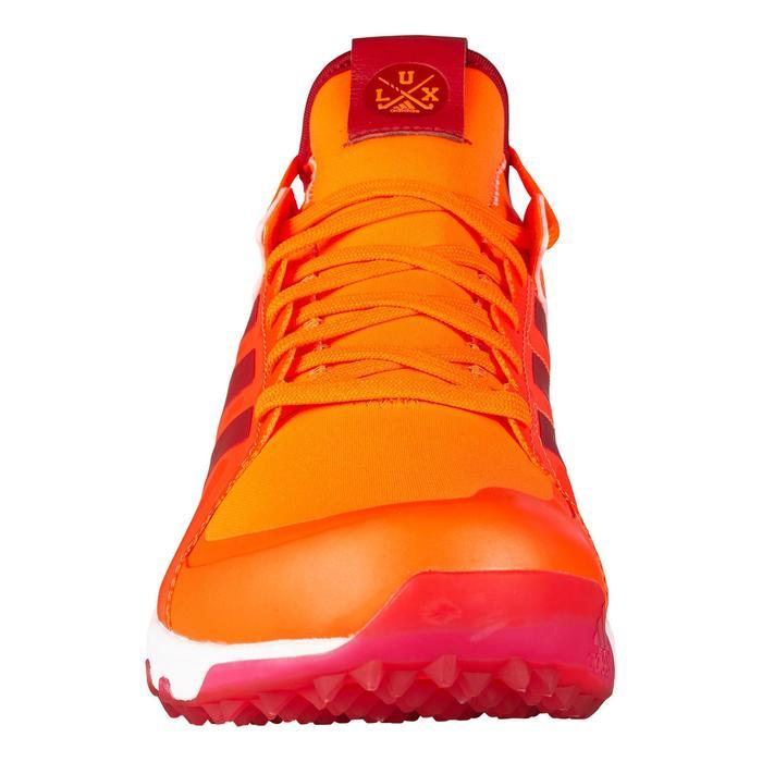 Hockeyschoenen voor heren hoge intensiteit Lux1.9S oranje