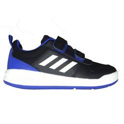Tennisschuhe Tensaur Kinder schwarz/blau