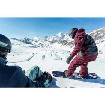 Snowboardhose SNB 500 Herren bordeaux