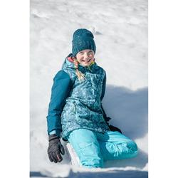 Snowboard- en ski-jas voor meisjes SNB 500 blauw en turquoise