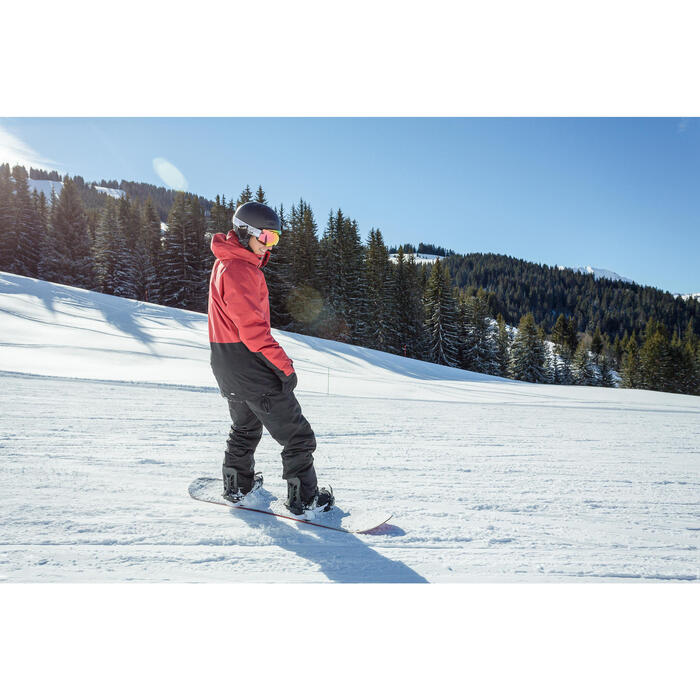 Fixations de snowboard homme Snb 100 noires
