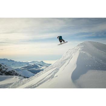 Snowboardboots voor heren all mountain Faction Zone Lock zwart