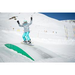 單板滑雪板用防滑黏貼墊。