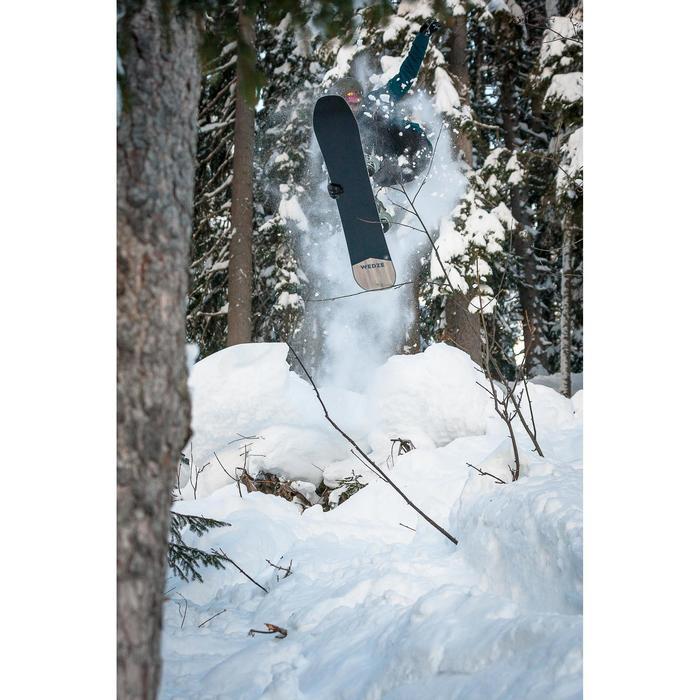 Snowboard schoen heren piste/off-piste Foraker 500 zwart