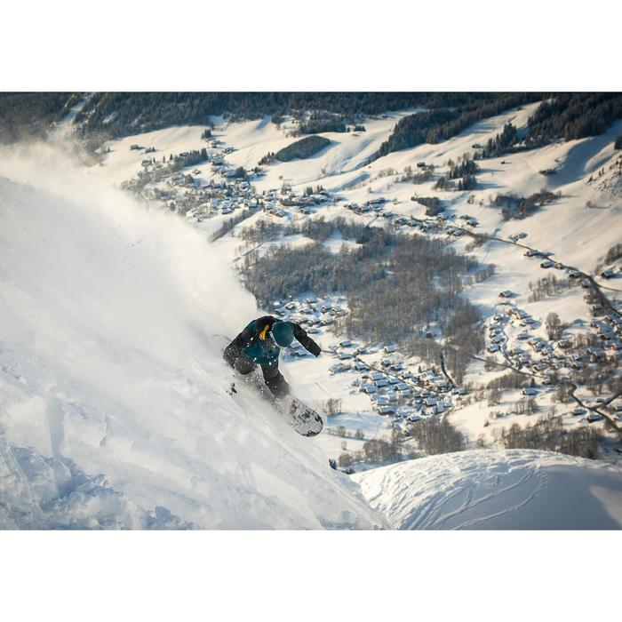 Fixations de snowboard piste / hors piste, homme, Illusion 700 noires et grises