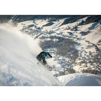Peto de snowboard (y de esquí) Hombre SNB BIB 900 negro
