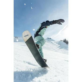 Fixações de Snowboard Freestyle Endzone 500 Homem e Mulher Bordeaux