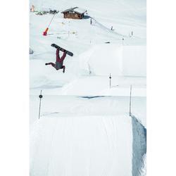 Veste de Snowboard (et de ski) Homme SNB JKT 500 Bordeau