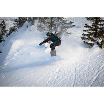 Snowboard- en skibroek met bretels voor heren SNB BIB 900 zwart
