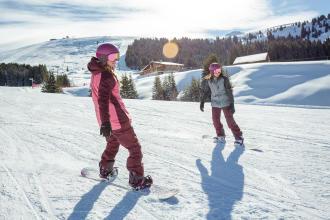 get started on a snowboard - teaser