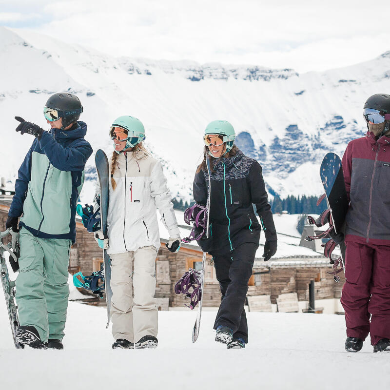 Hoe hou je je ski-jas waterdicht?