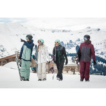 Pantalón de snowboard, Wed'ze SNB PA 500, Impermeable, Hombre, Gris