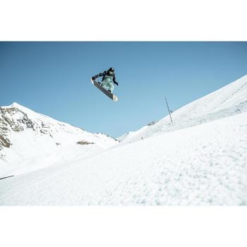 Snowboard- en skibroek voor heren SNB PA 500 groen