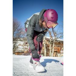 Snowboard schoenen dames MAOKE 300 grijs / wit