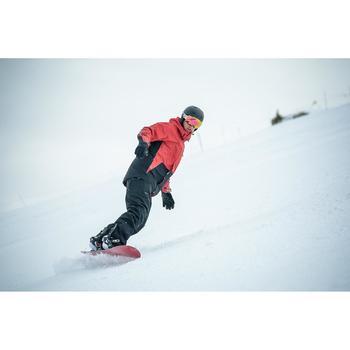 Men's On-piste & All-mountain Snowboard, BULLWHIP 300 EVO