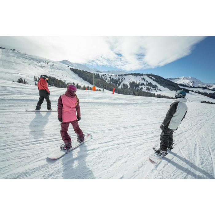 Snowboardjacke Skijacke SNB 100 Herren grau