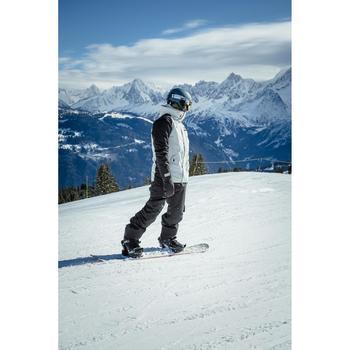 男款單/雙板滑雪外套SNB JKT 100 - 灰色