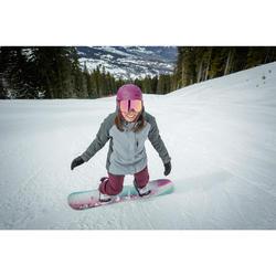 Snowboardjacke Skijacke SNB 100 Damen grau