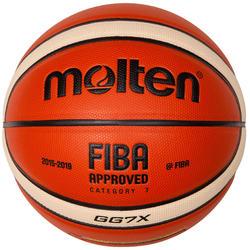Ballon de basketball GG7X taille 7 MOLTEN FIBA APPROVED POUR GARÇON ET HOMME