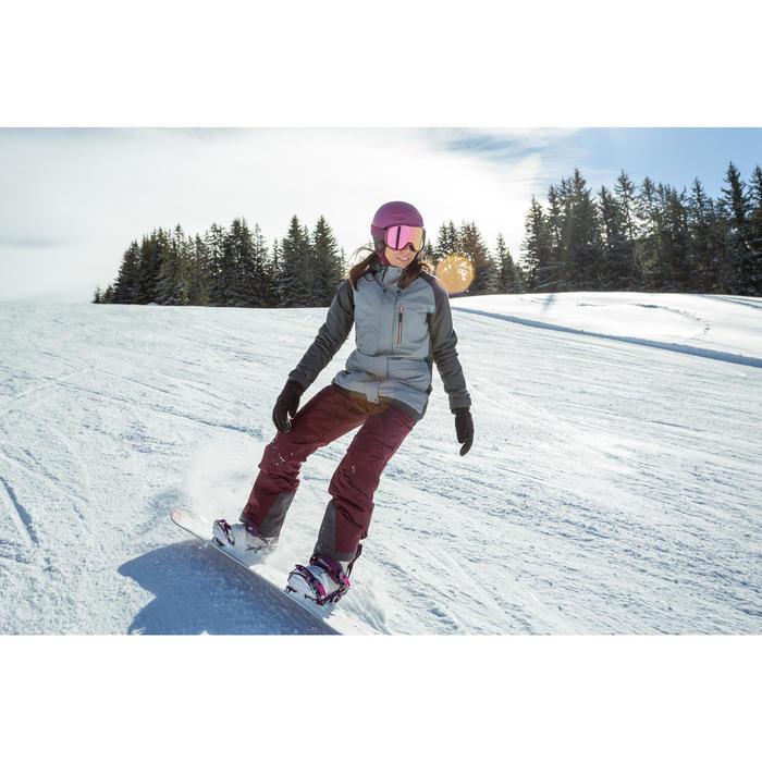 Snowboardboots voor dames MAOKE 300 grijs